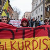 Manifestazione pro-Kurdistan