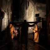 Orte - la processione di Cristo morto