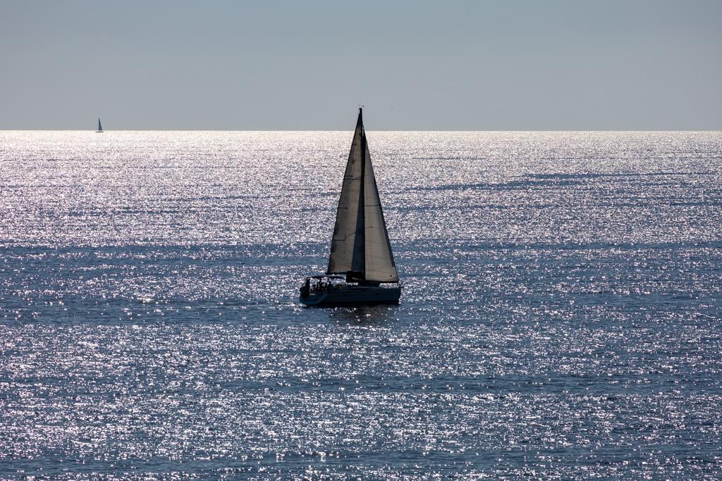 barche al porto della marina di Pisciotta